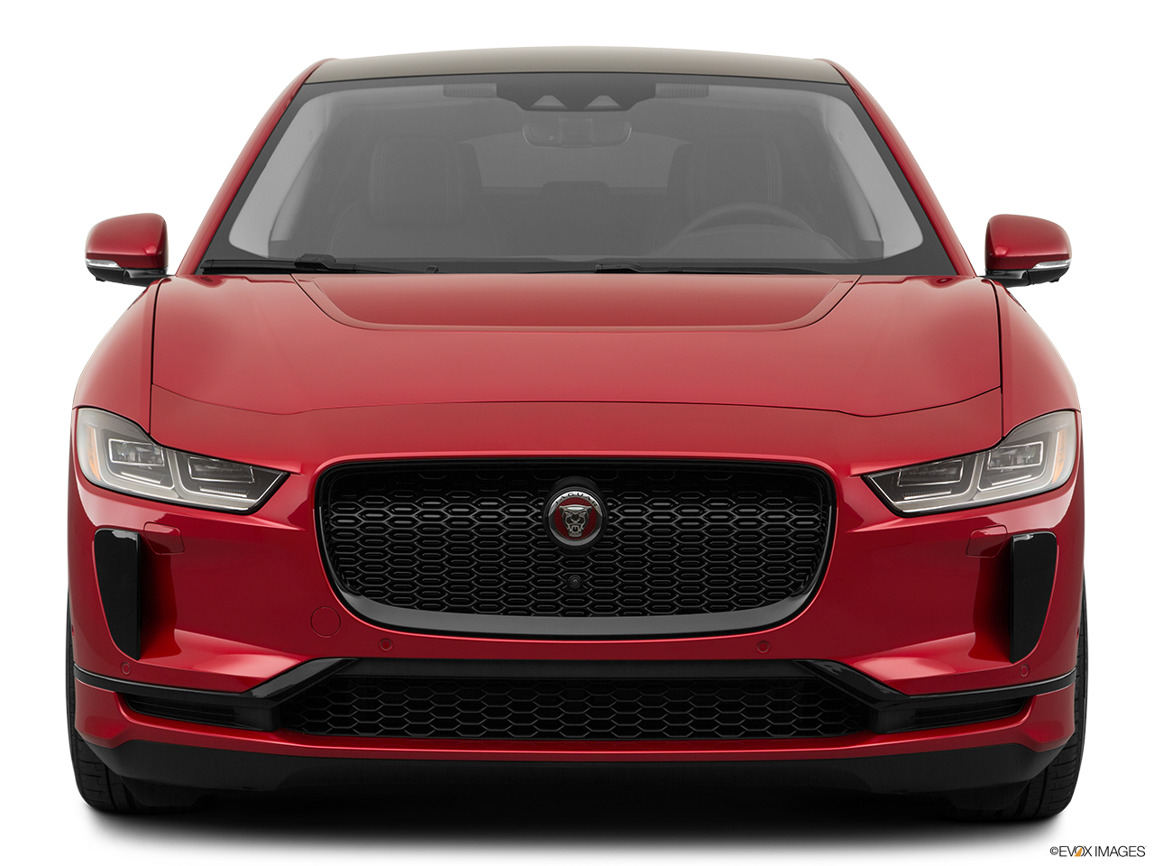 Front view of the Jaguar I-Pace