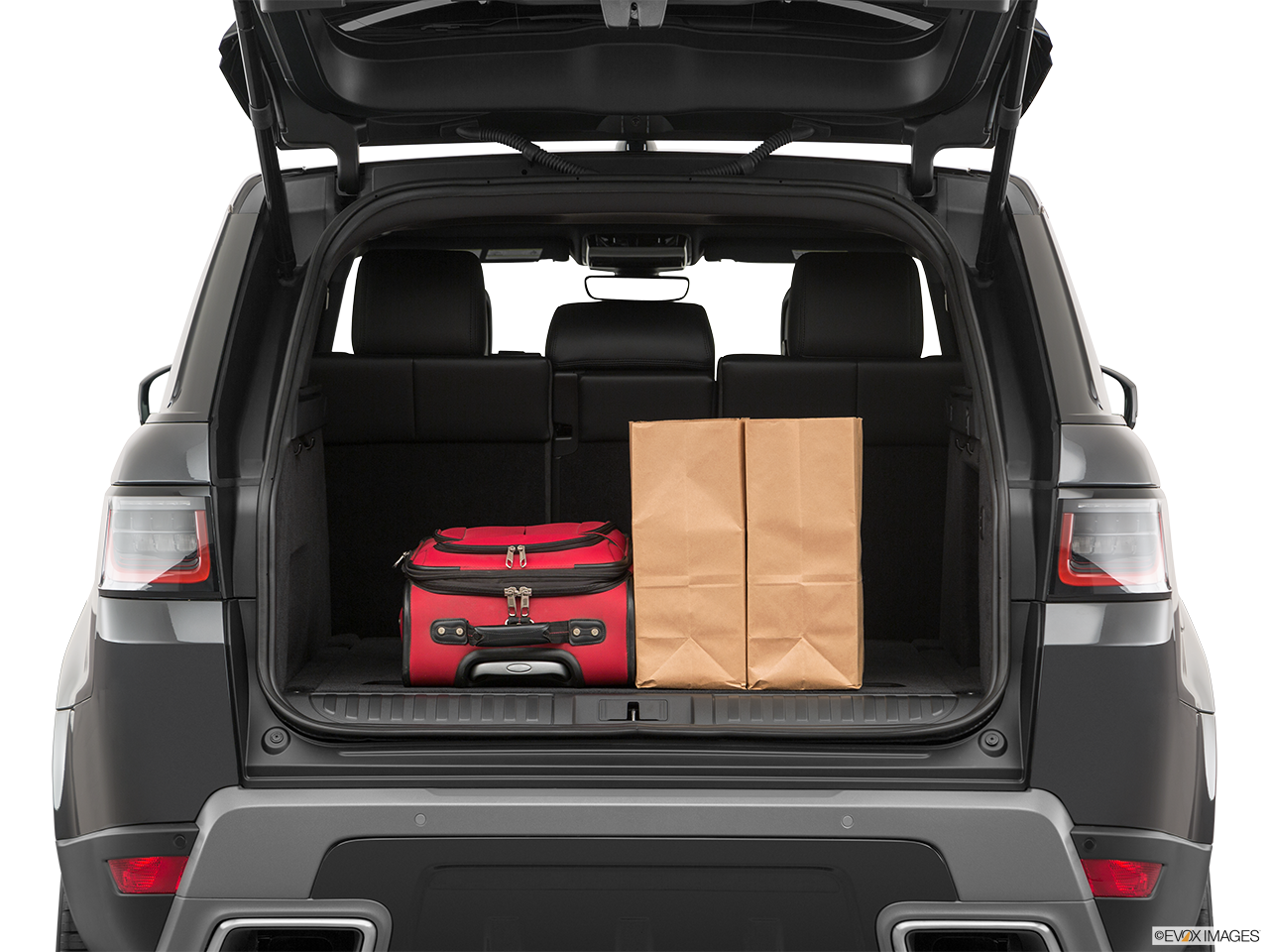 Trunk view of the Land Rover Range Rover PHEV