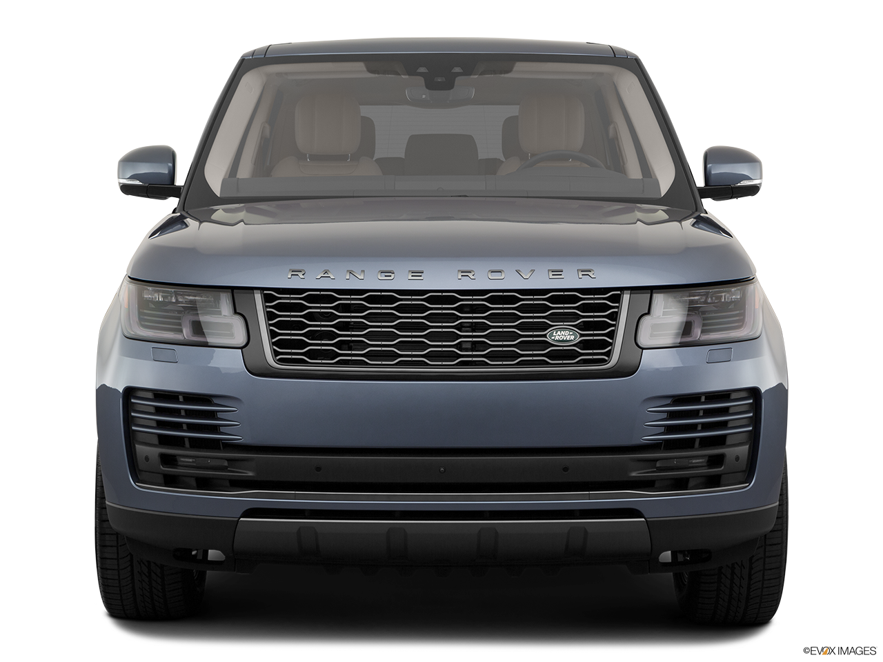 Front view of the Land Rover Range Rover PHEV