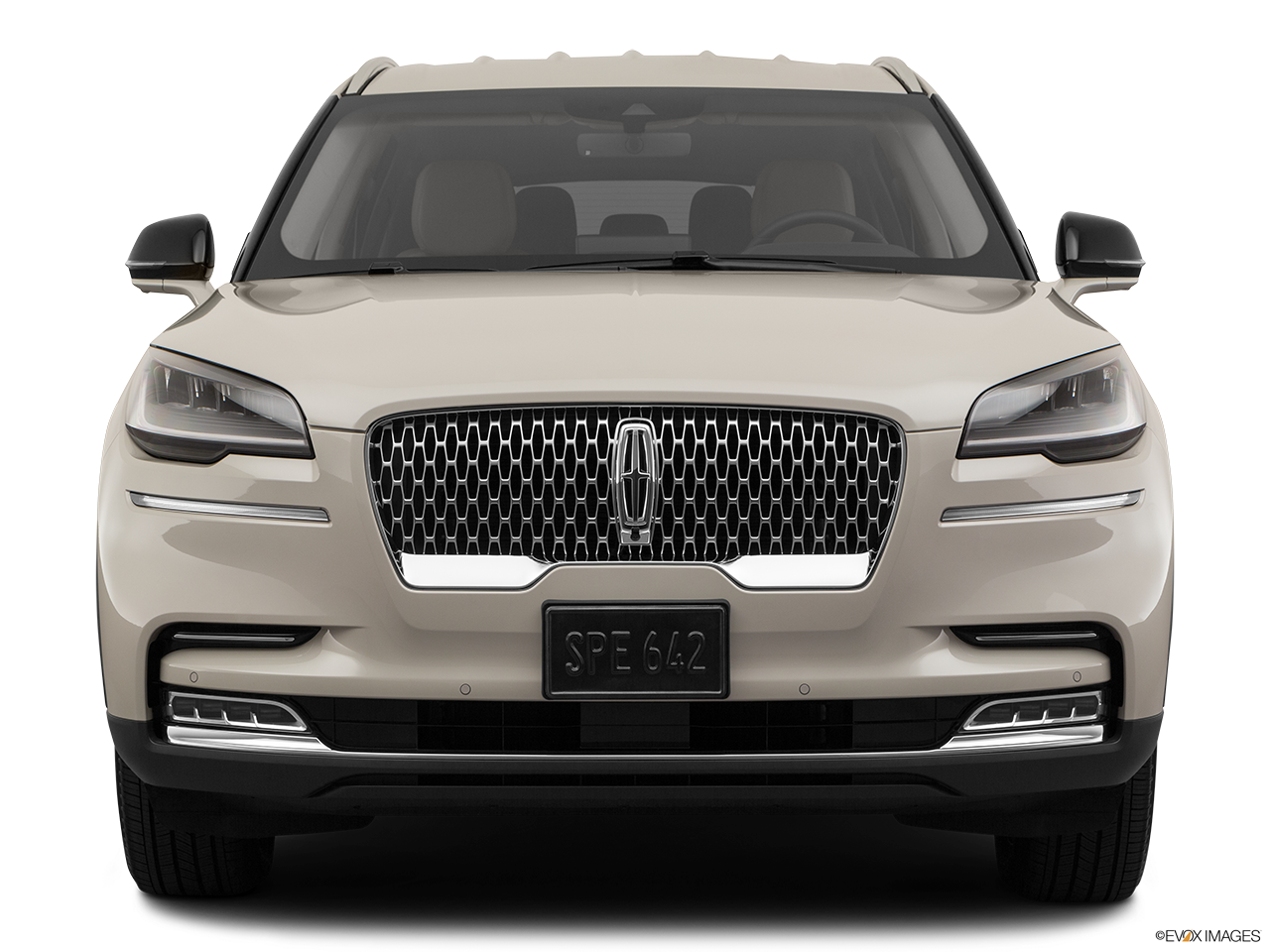 Front view of the Lincoln Aviator Grand Touring