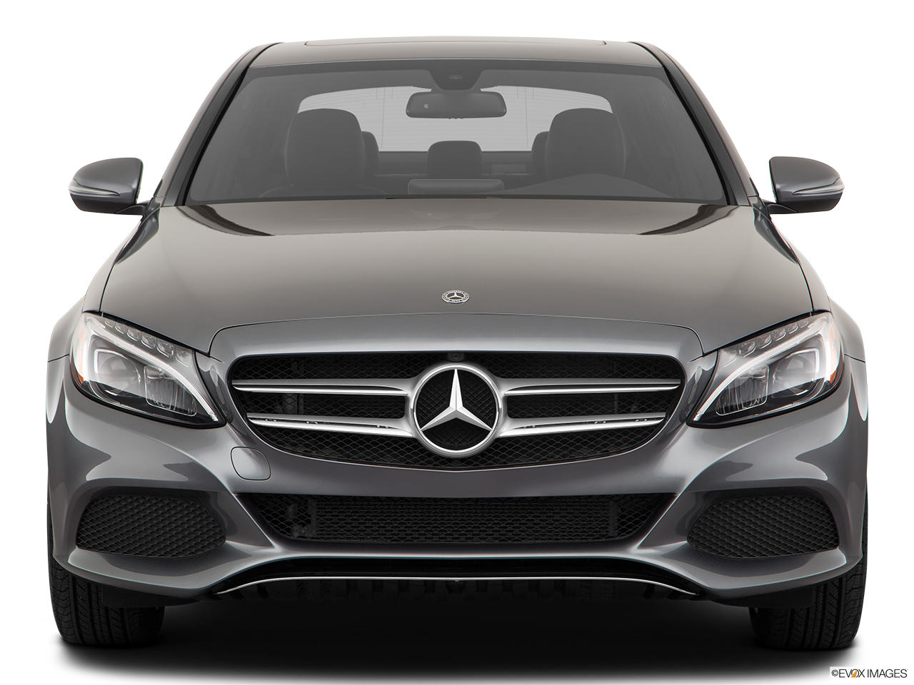 Front view of the Mercedes-Benz C350e