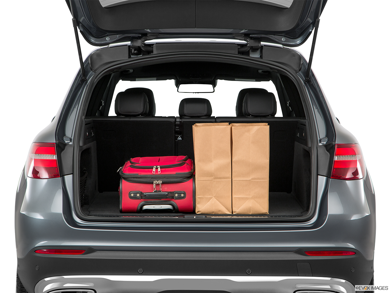 Trunk view of the Mercedes-Benz GLC350e