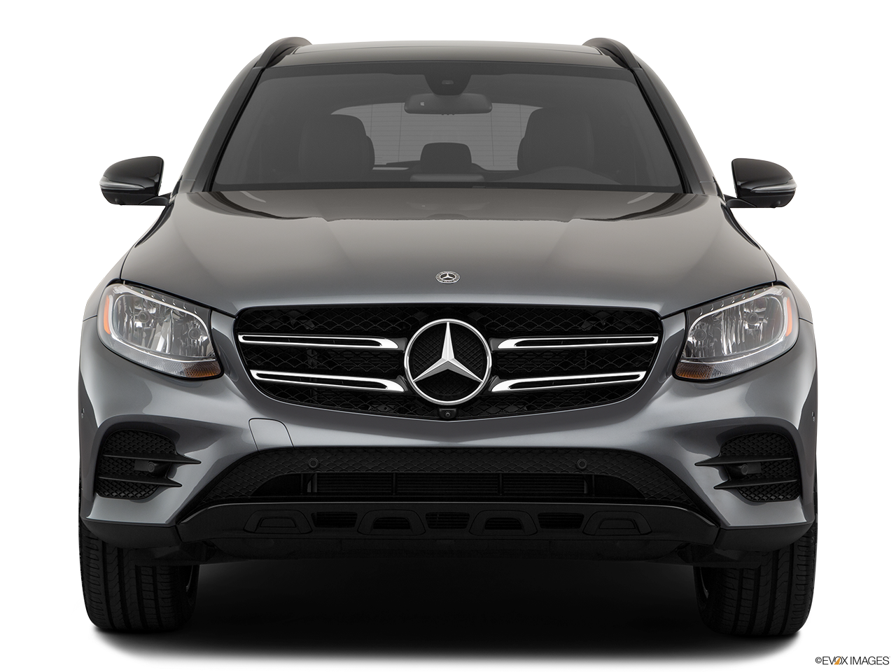 Front view of the Mercedes-Benz GLC350e