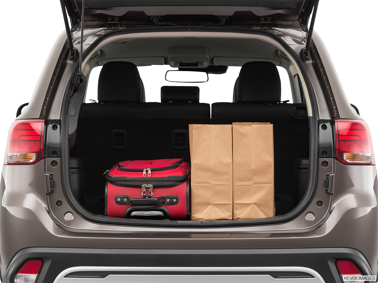 Trunk view of the Mitsubishi Outlander PHEV