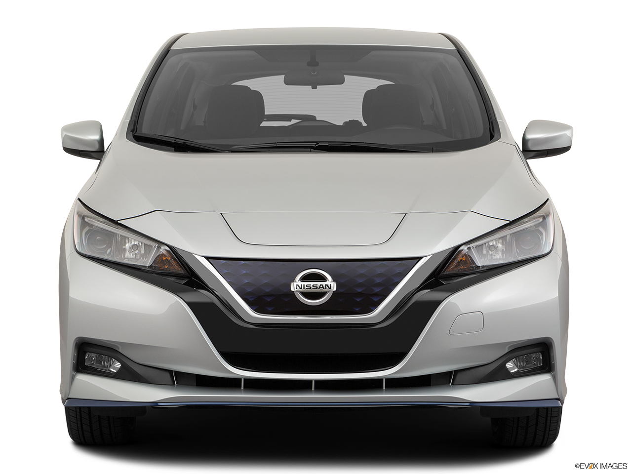 Front view of the Nissan LEAF