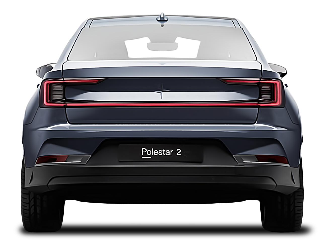 Trunk view of the Polestar 2