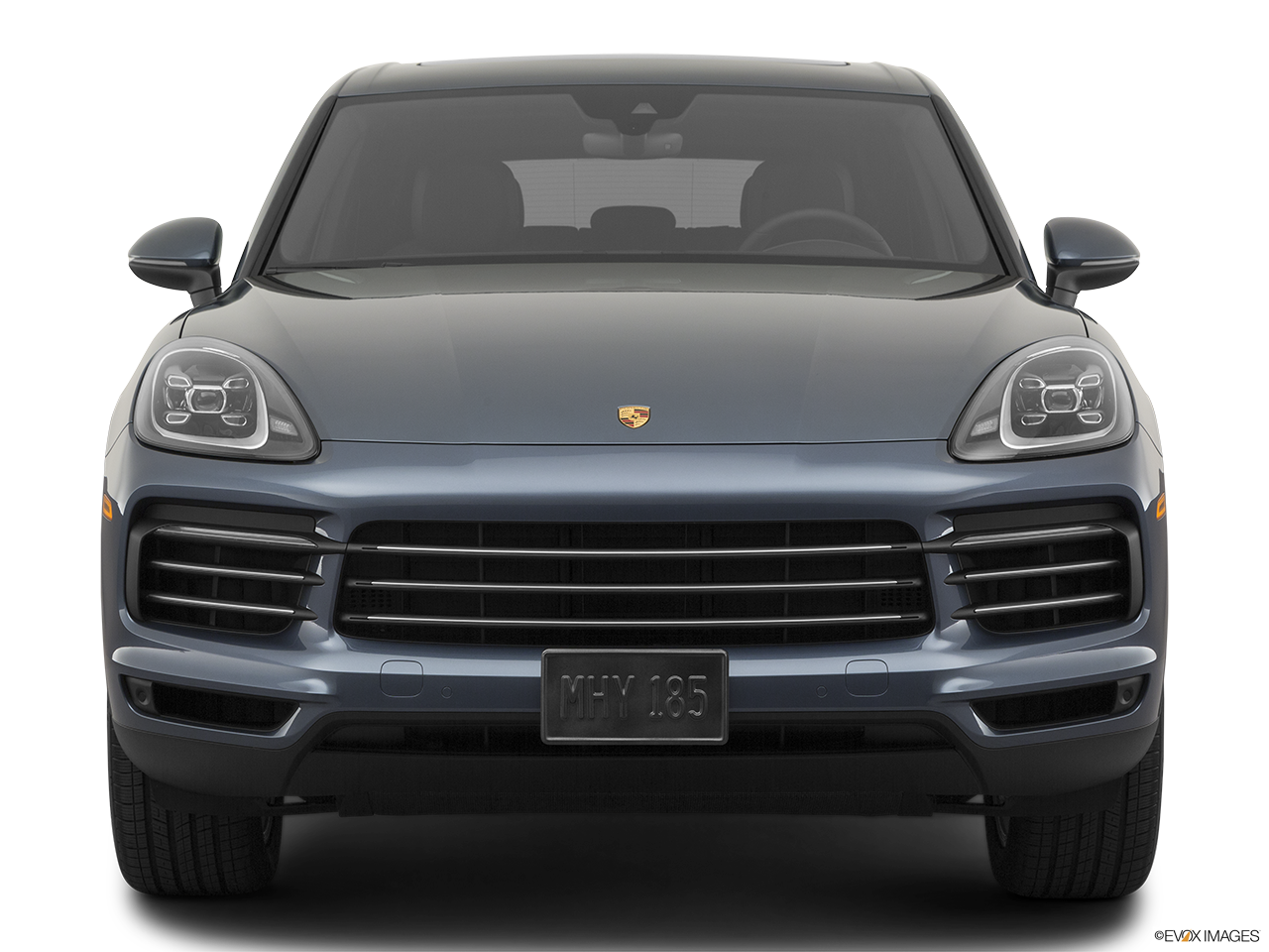 Front view of the Porsche Cayenne S E Hybrid