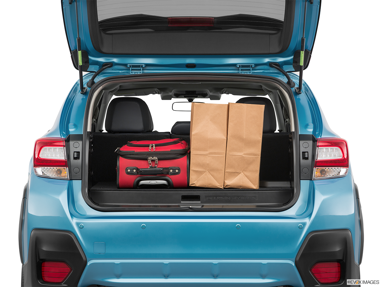 Trunk view of the Subaru Crosstrek Hybrid