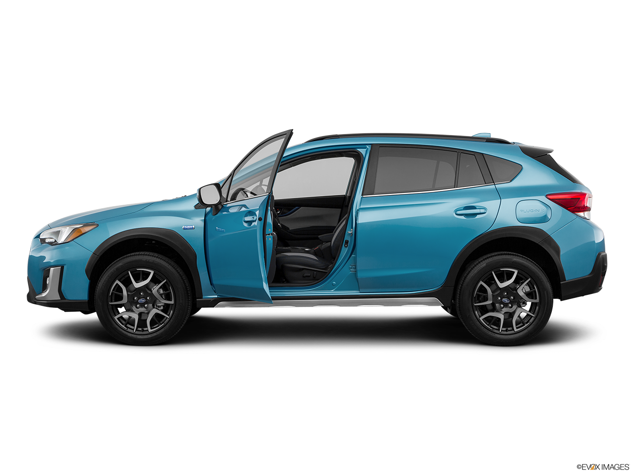 Side view of the Subaru Crosstrek Hybrid
