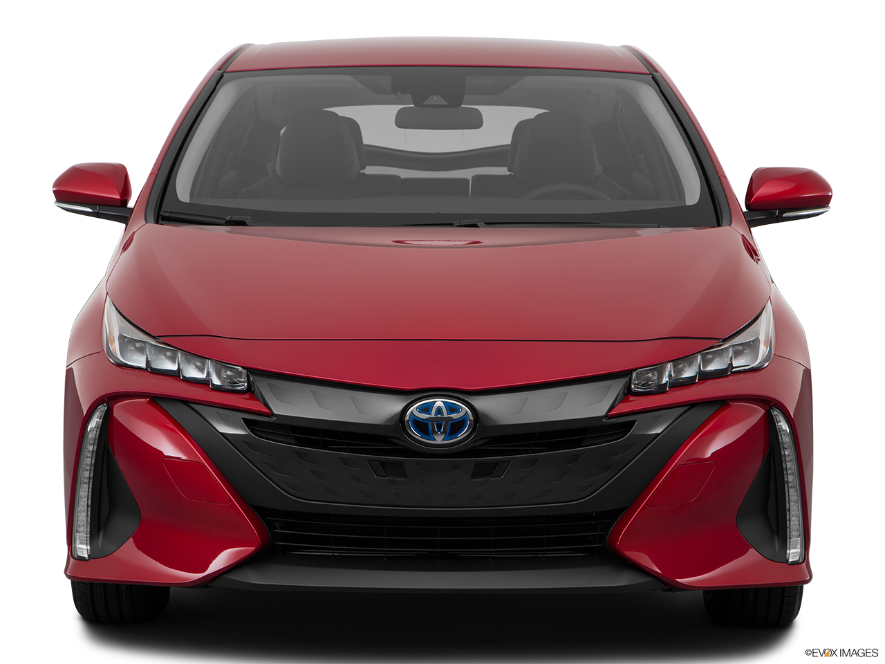 Front view of the Toyota Prius Prime