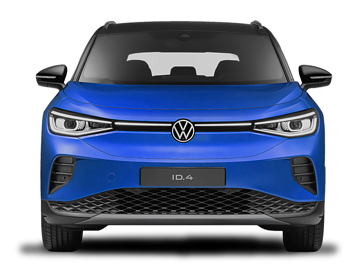 Front view of the Volkswagen ID.4