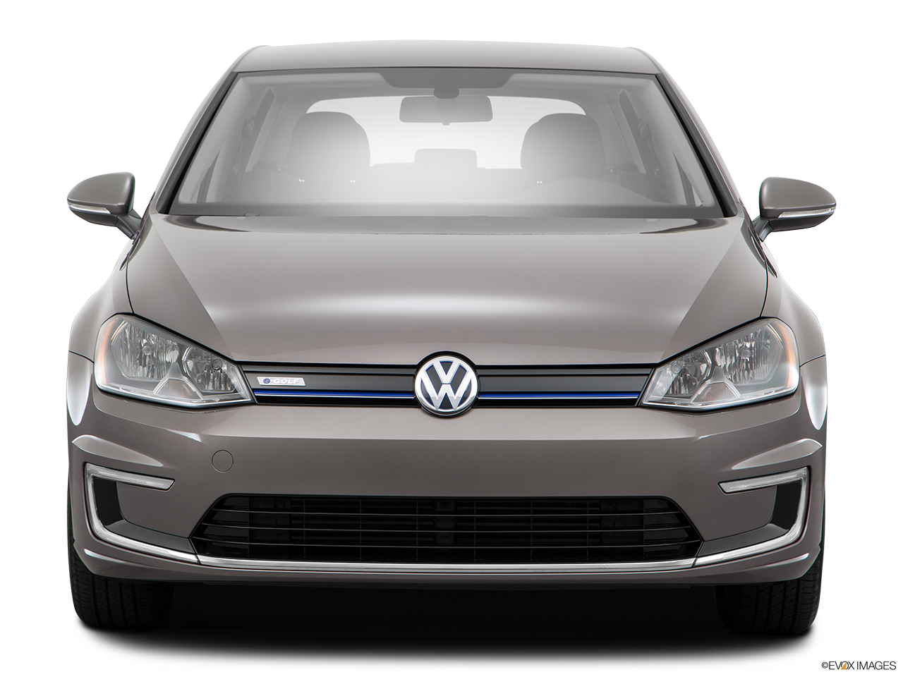 Front view of the Volkswagen e-Golf