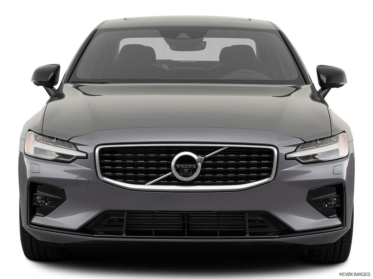 Front view of the Volvo S60 PHEV