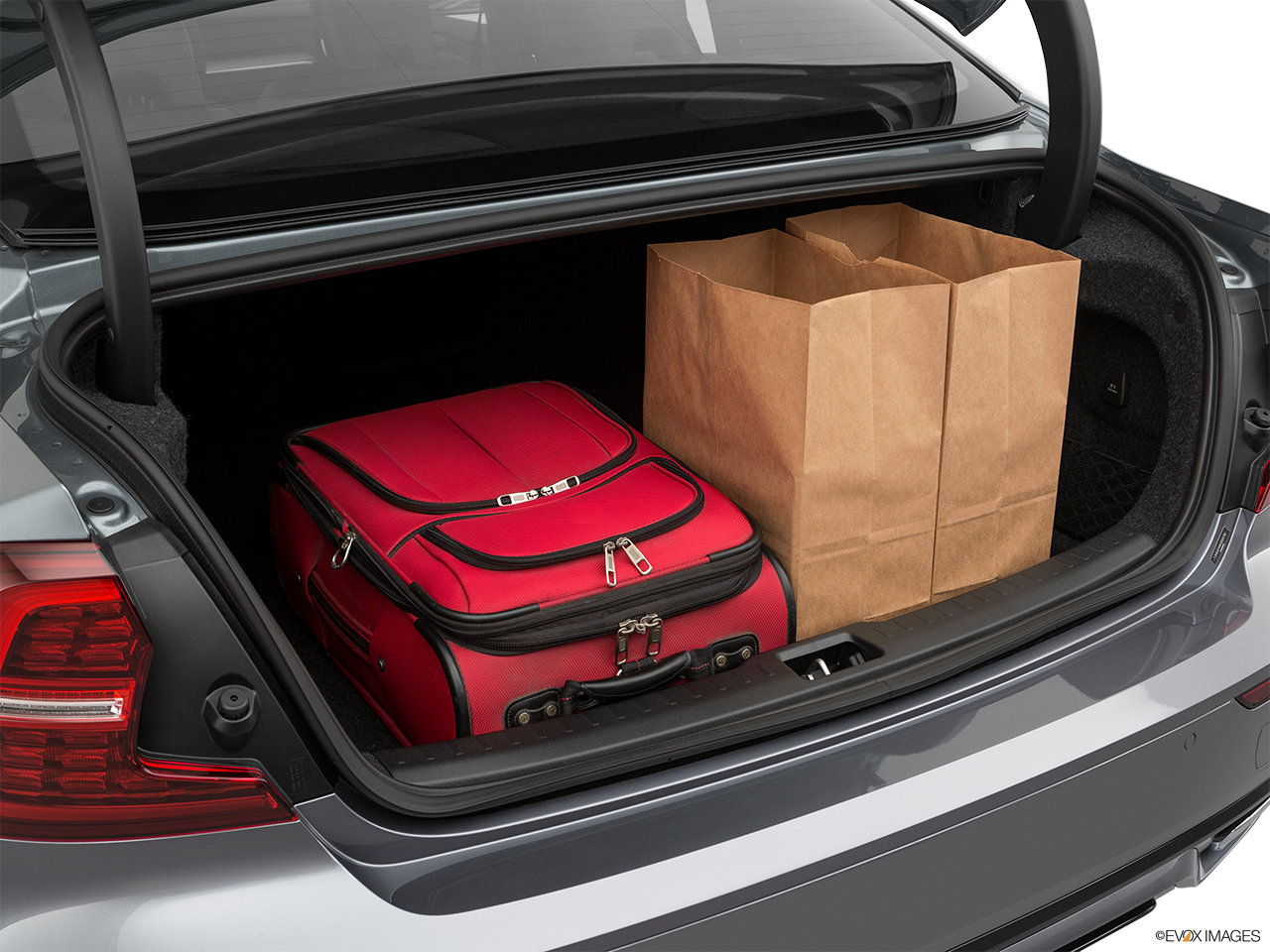 Trunk view of the Volvo S60 PHEV