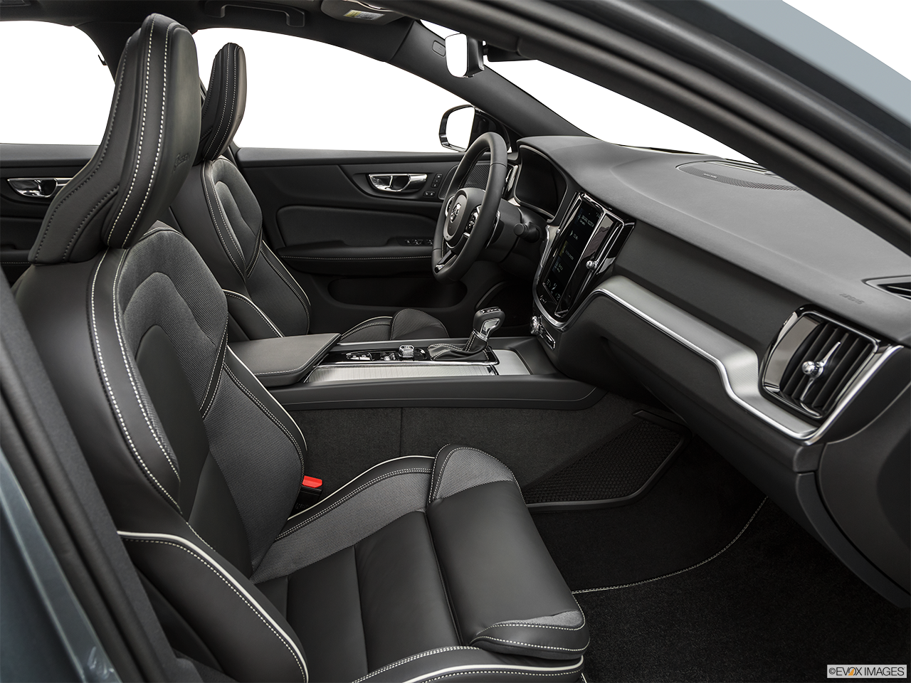 Interior view of the Volvo S60 PHEV