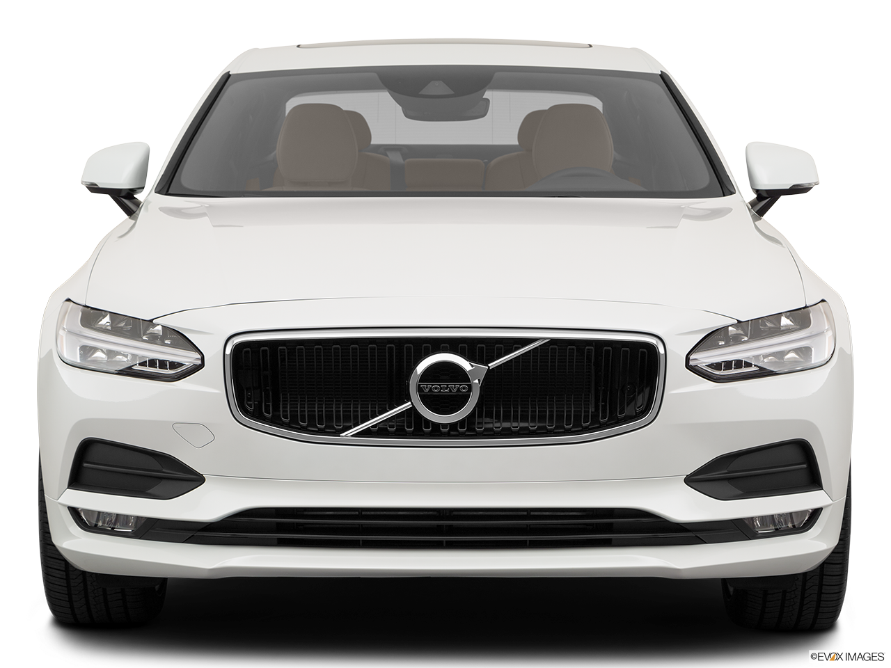 Front view of the Volvo S90 PHEV