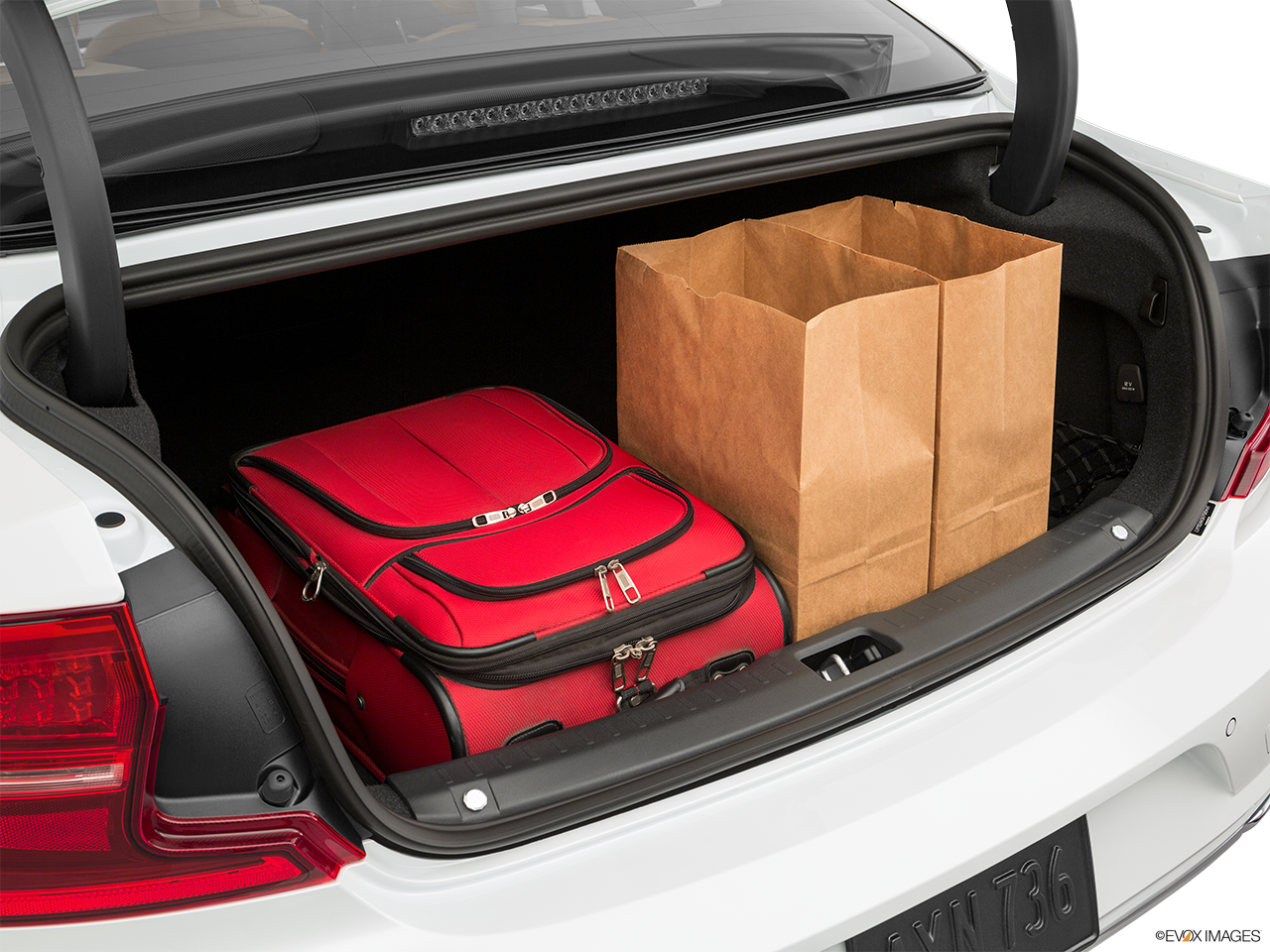 Trunk view of the Volvo S90 PHEV