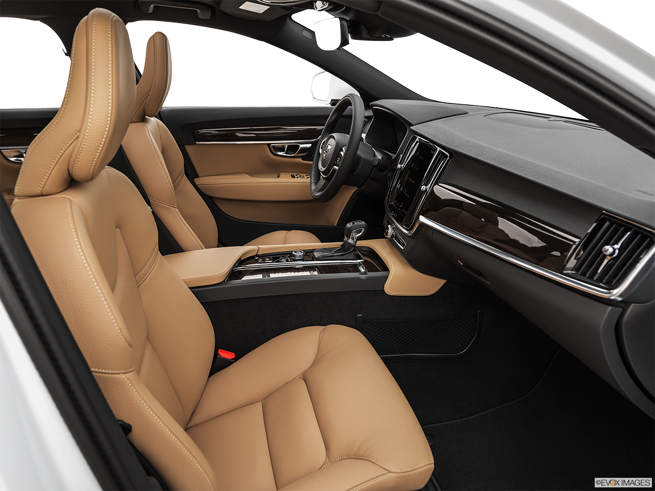 Interior view of the Volvo S90 PHEV