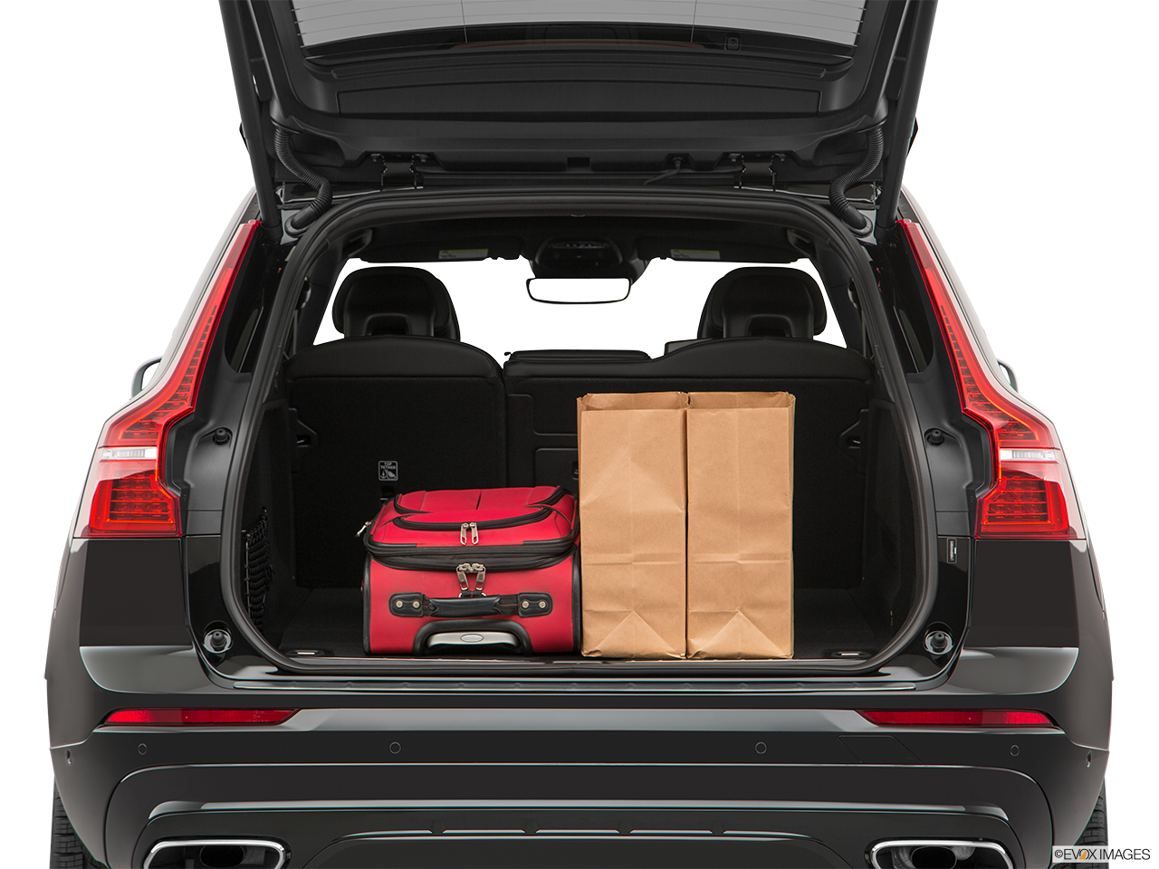 Trunk view of the Volvo XC60 PHEV