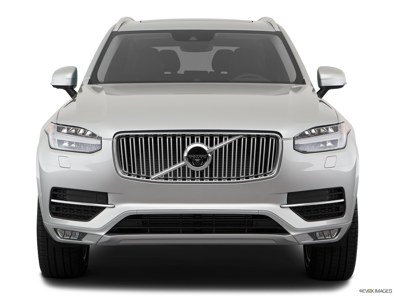 Front view of the Volvo XC90 PHEV