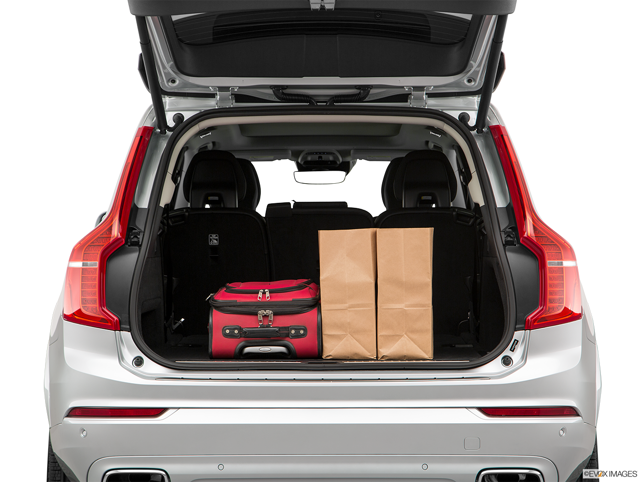 Trunk view of the Volvo XC90 PHEV